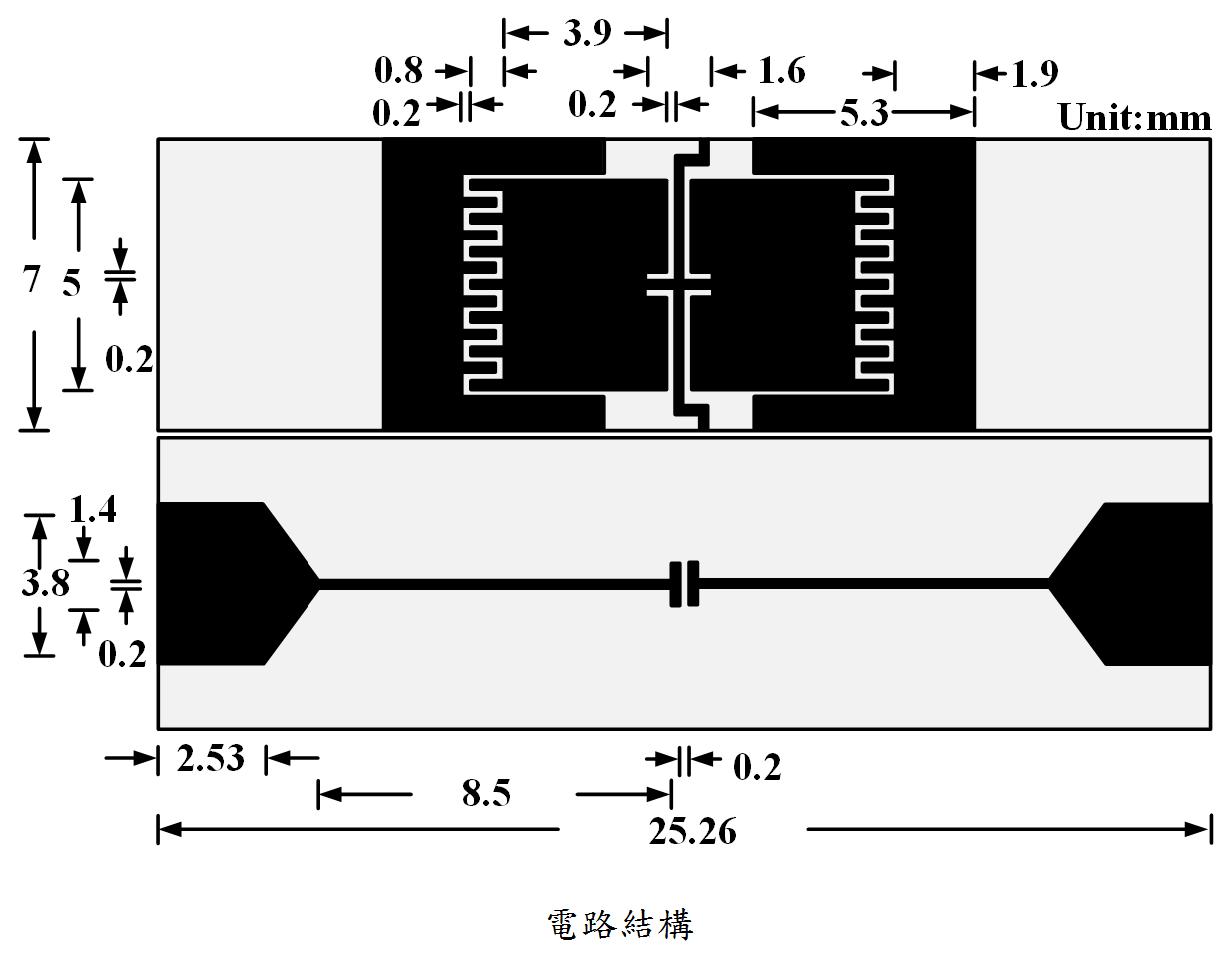 Filter componentsbandpass filtering circuit of bandpass filter