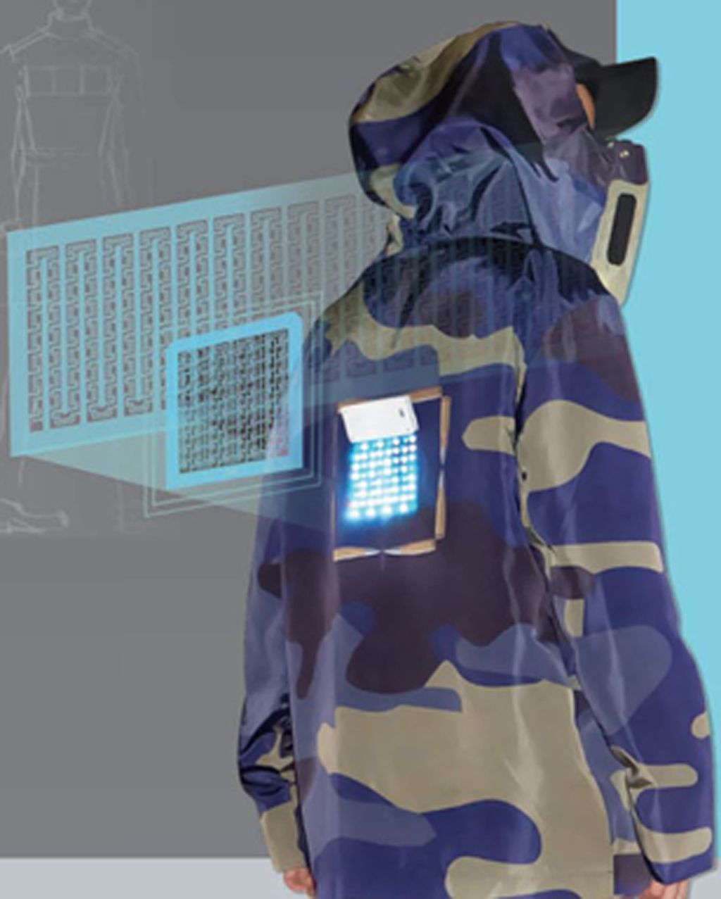 Embedded Smart Textile Arrays Display Module