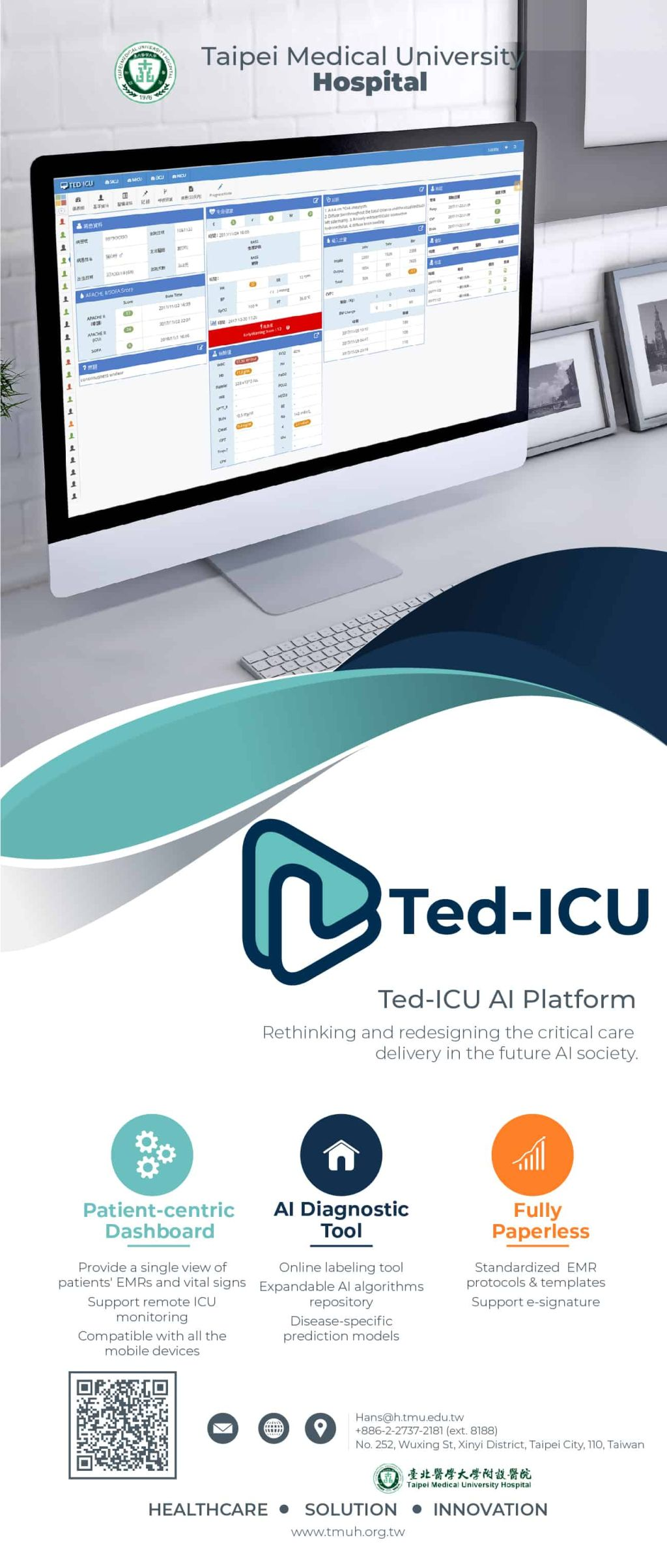 Ted-ICU AI Platform