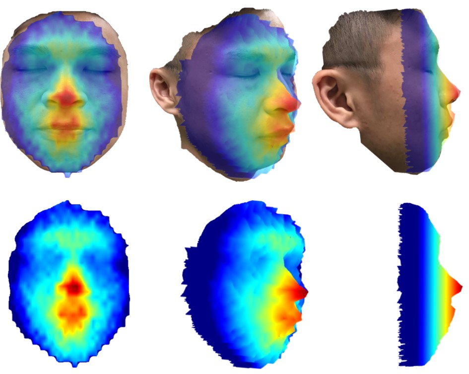 Artificial Intelligent 3D Sensing Image Processing System for Array Sensing Lidar