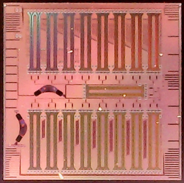 An 1.6Tb/s Silicon Photonics Chip