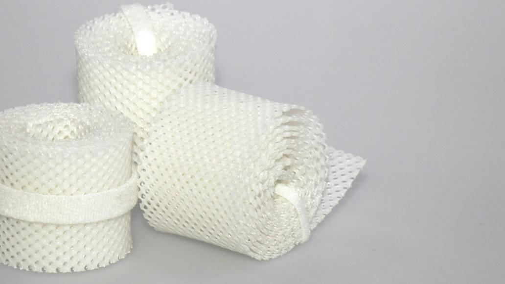 取代石膏之2D熱可塑繃帶