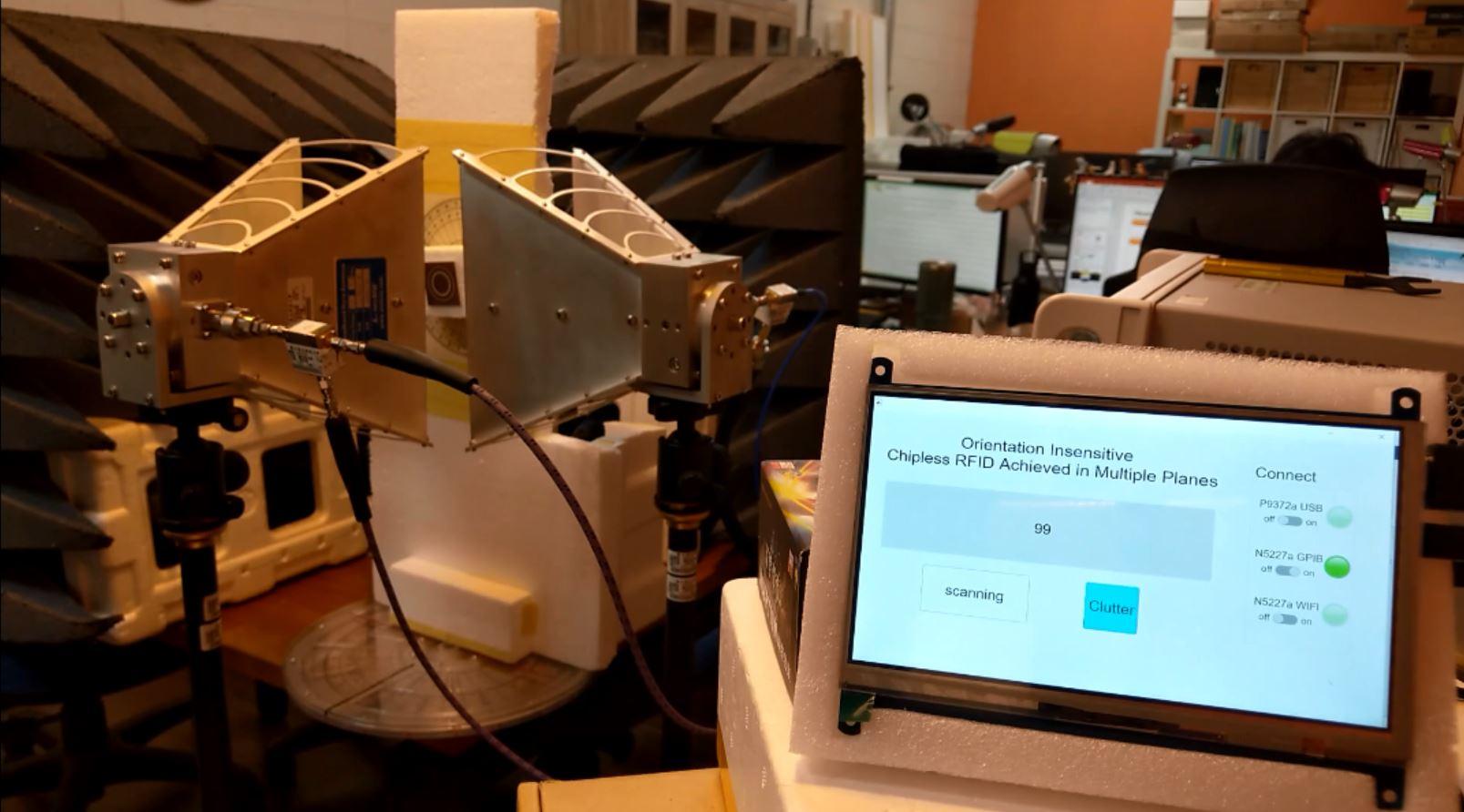 突破物聯網的最後一哩:無晶片射頻辨識