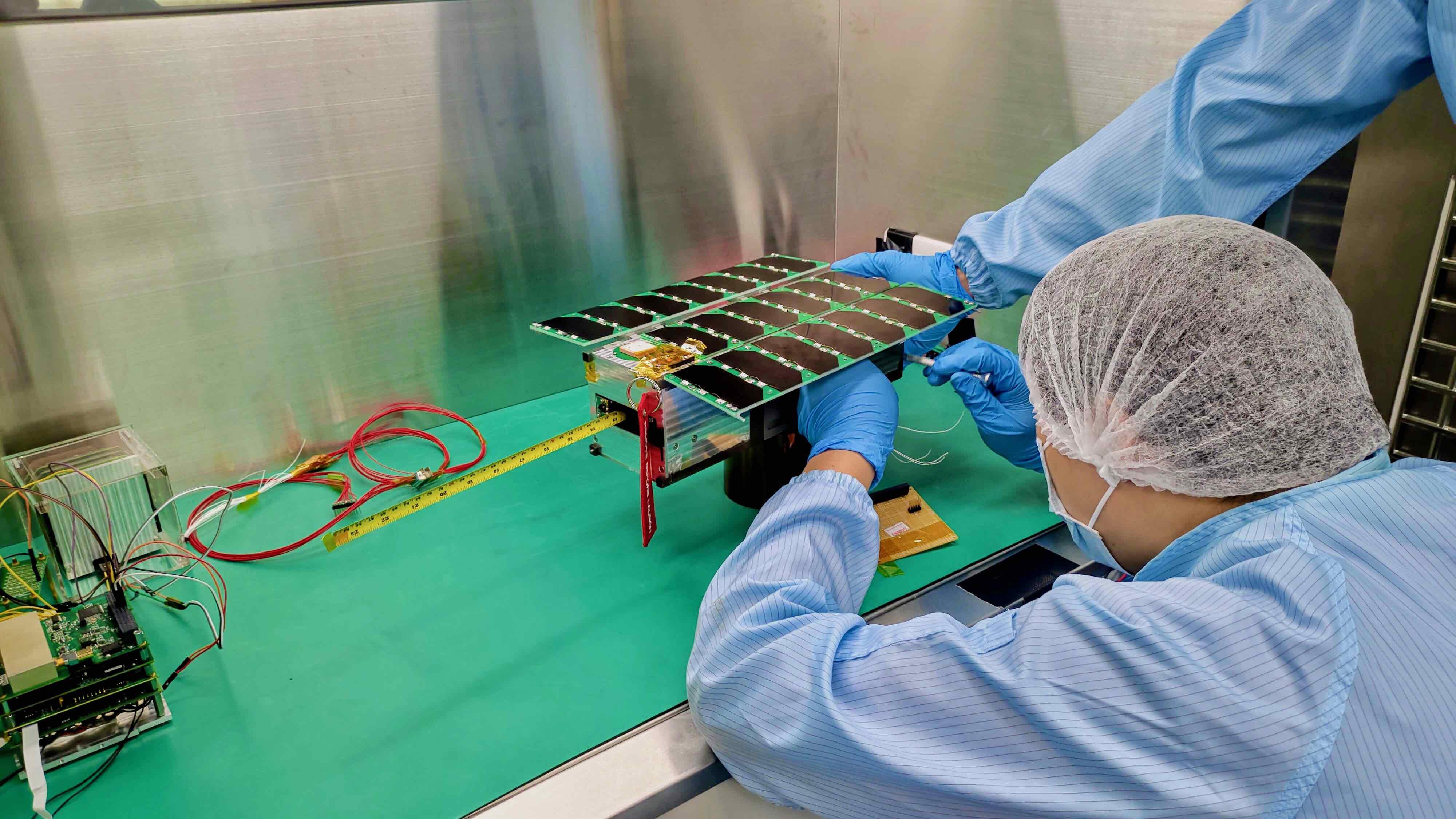 台灣自製衛星航電,太空探索任務與地面操控系統
