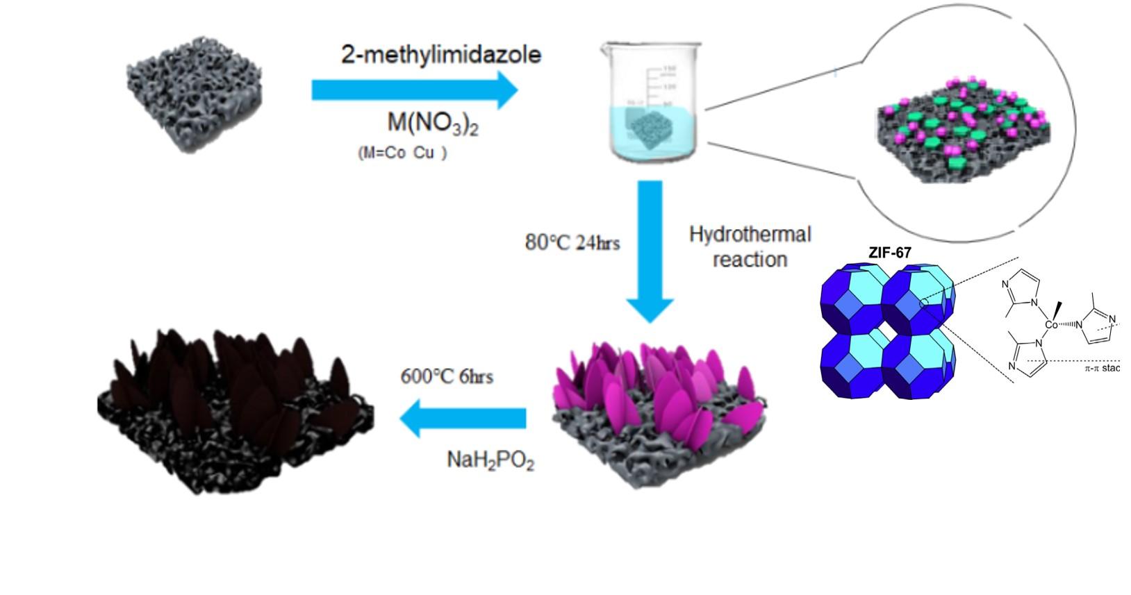 陽光下金屬-有機依戀框架的氫呼吸