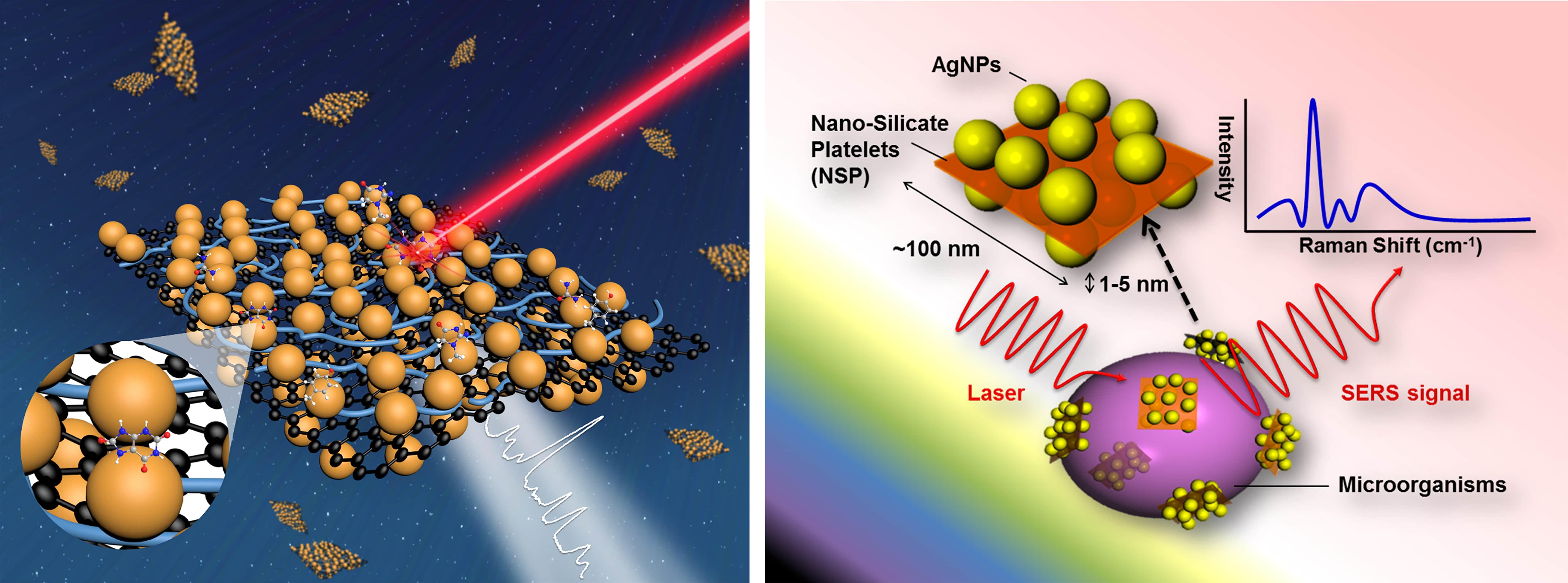 磁性二維金屬奈米粒子陣列之表面增強拉曼光譜 (SERS)檢測平台於環境-生醫感測之應用