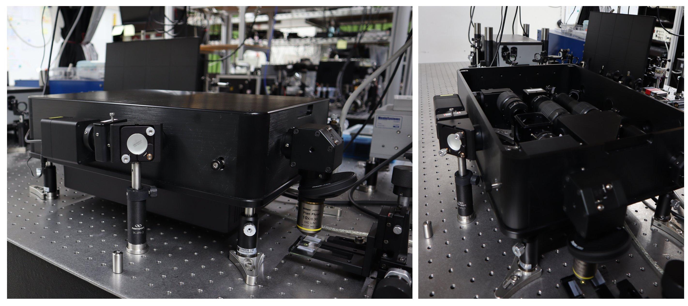 多光子激發之高光譜顯微影像技術