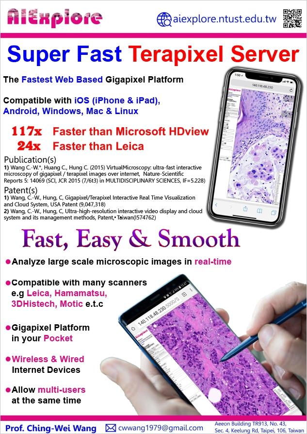 Super Fast Terapixel Server [Digital Pathology]