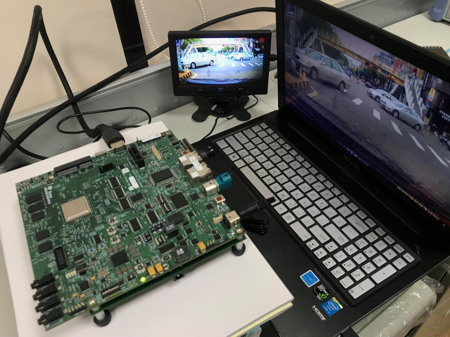 Embedded deep learning object detection on TI TDA2X
