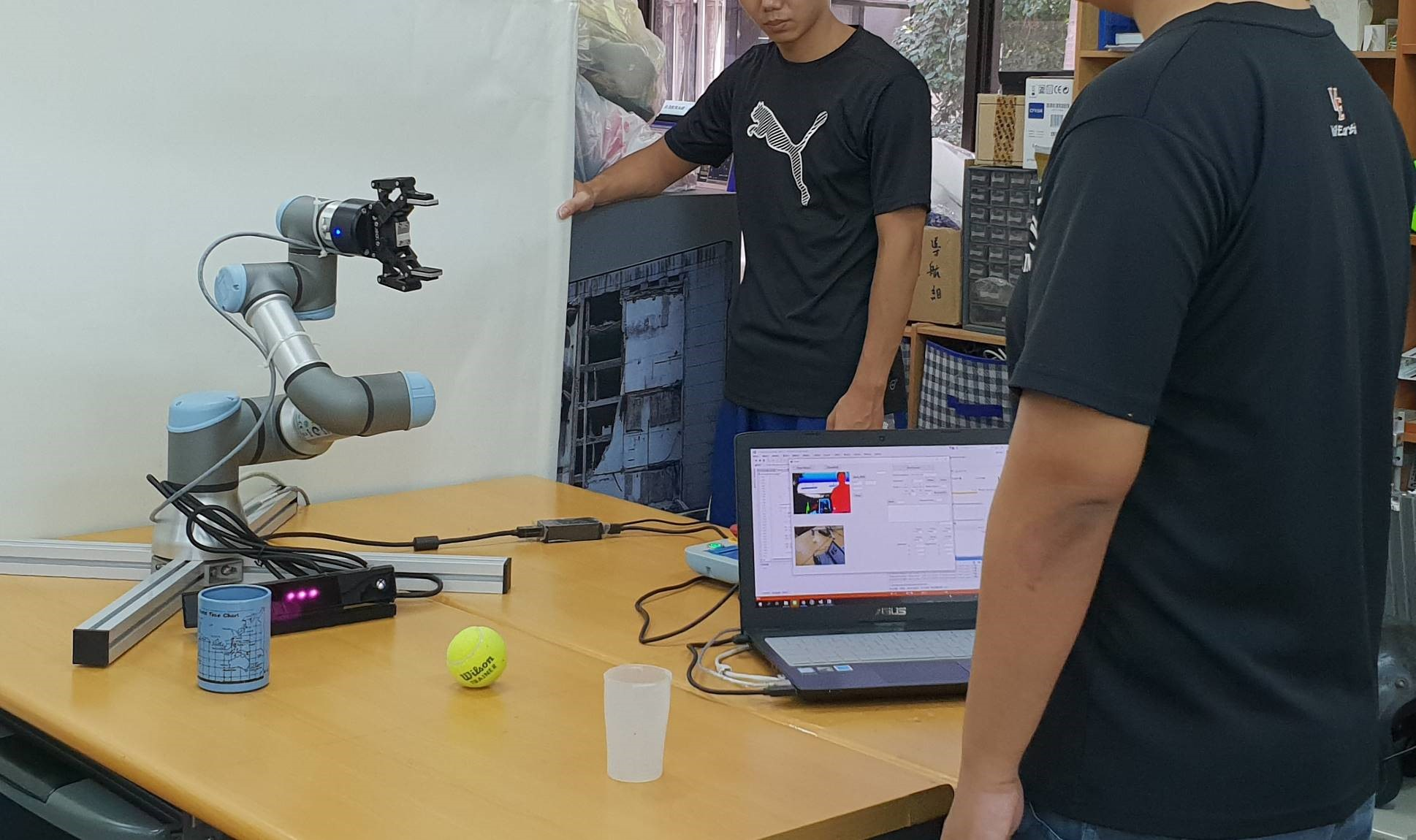 Development of Learning from Human Demonstration Robot