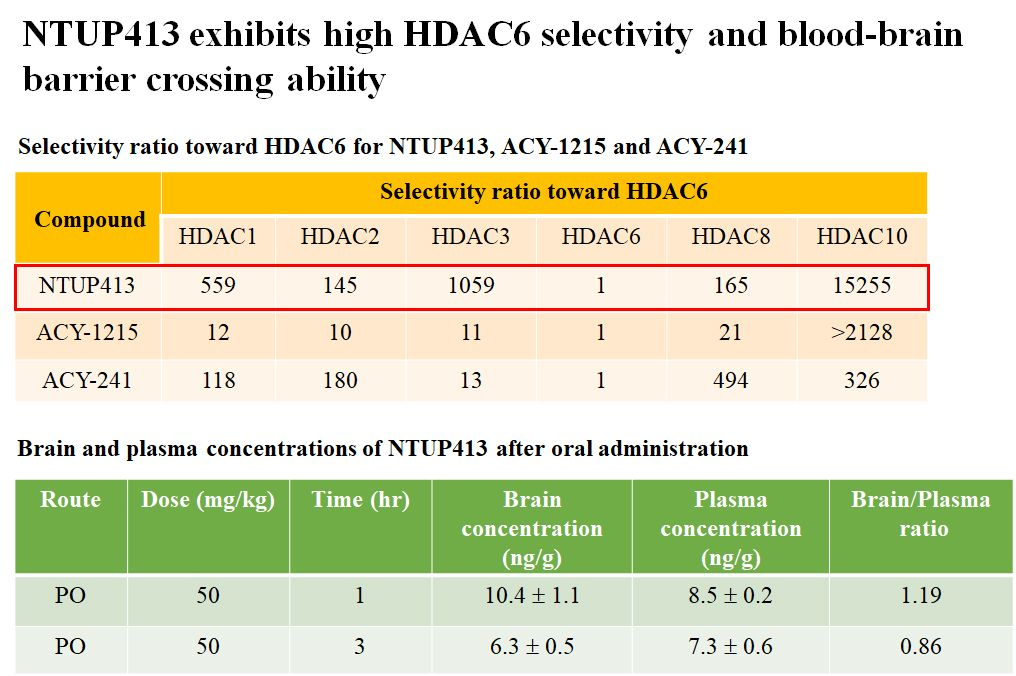 Development of selective histone deacetylase 6 inhibitor for the treatment of Alzheimer's disease