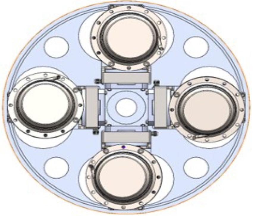 具飛行軌跡控制功能之雙節混合式火箭系統與微型量子通訊模組研發