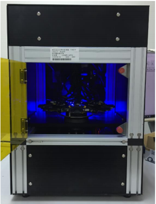 An automated benchtop platform for rapid and trace antimicrobial susceptibility testing