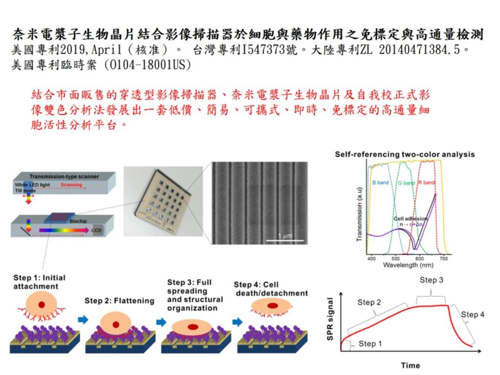 Nanoplasmonic biochips with commercial image scanners for label-free and high-throughput detections of cell-drug interactions