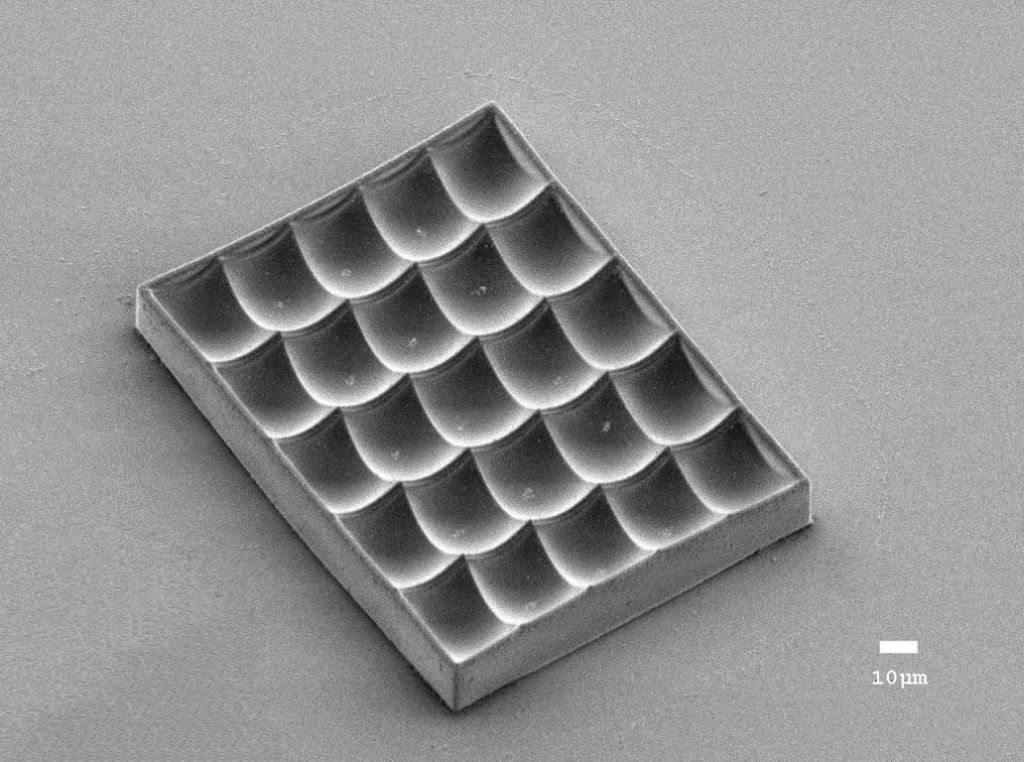 Fabrication of Micro Structure by Nano 3D Lithography System