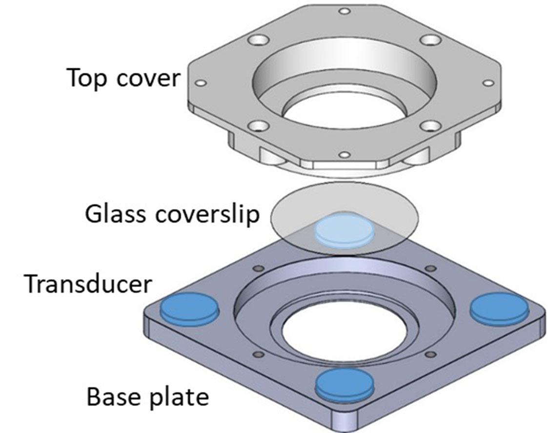 Ultrasonic cell stimulation device