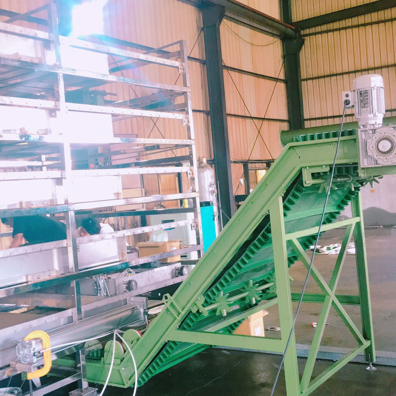 Circular Economy - Leaf Gold Insect Equipment Installation