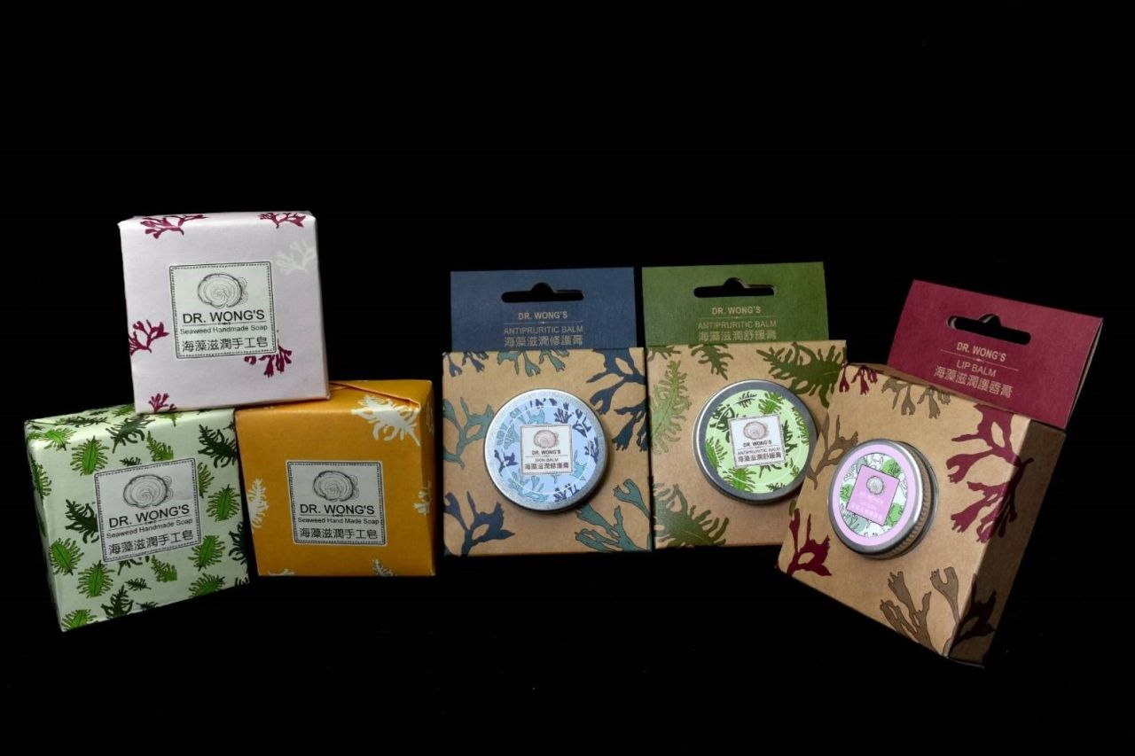 Seaweed skin care product development technology of Taiwan