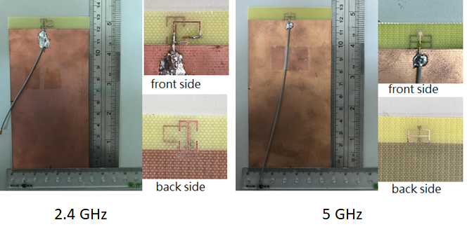 A compact antenna for SAR reduction