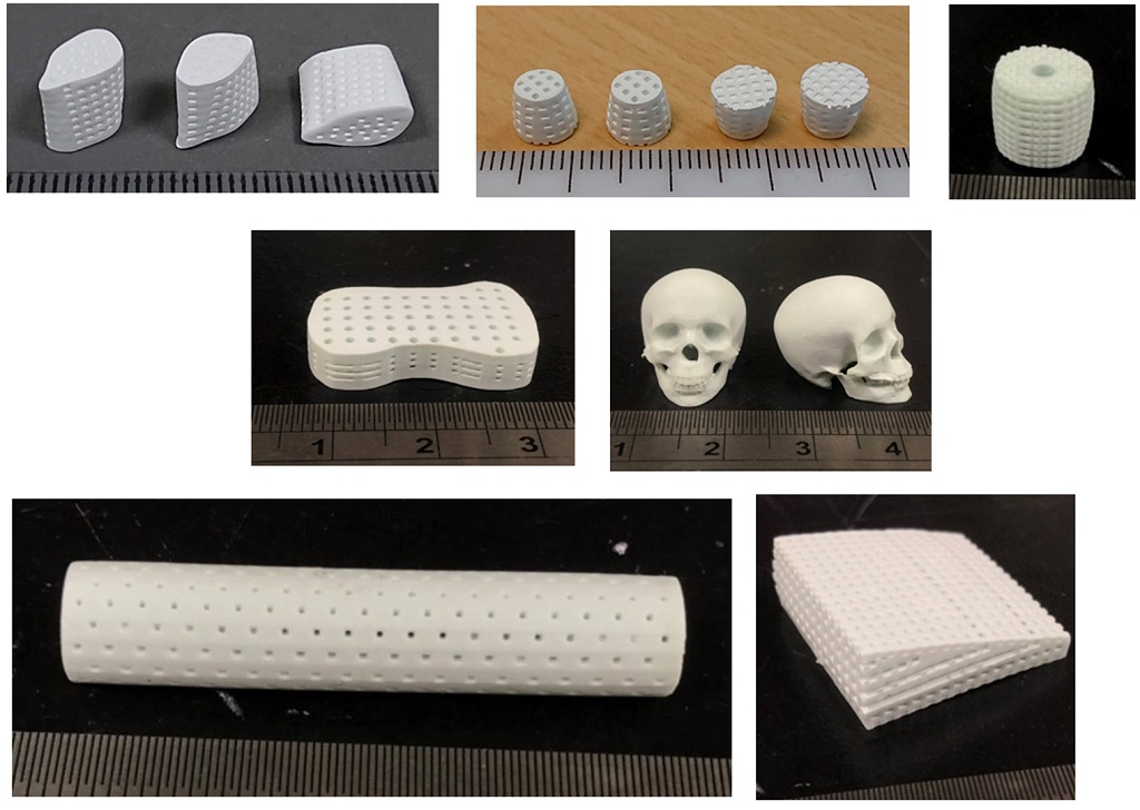 Innovative 3D fine ceramic printing technology using negative thermo-responsive & photo-curing ceramic slurry system