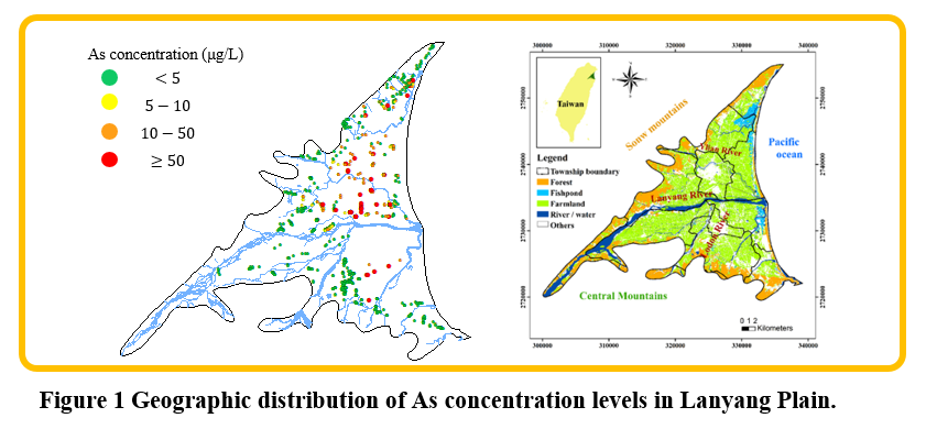 A machine learning approach for spatial mapping of groundwater contamination and its application of public health management