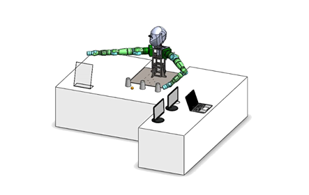 Dexterous and Multifunctional Dual-Arm Robot with Artificial Intelligence Vision