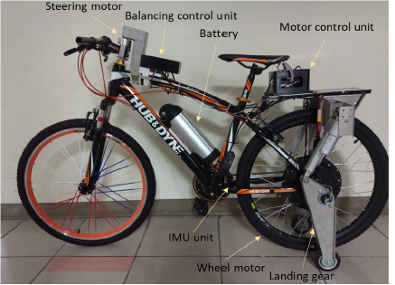 Automatic Balancing and Driving of Electric Bicycles