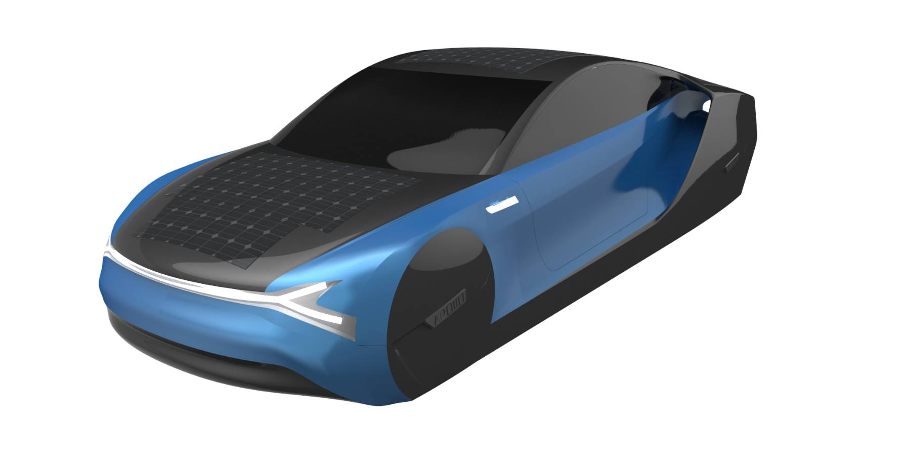 Commercialized solar car