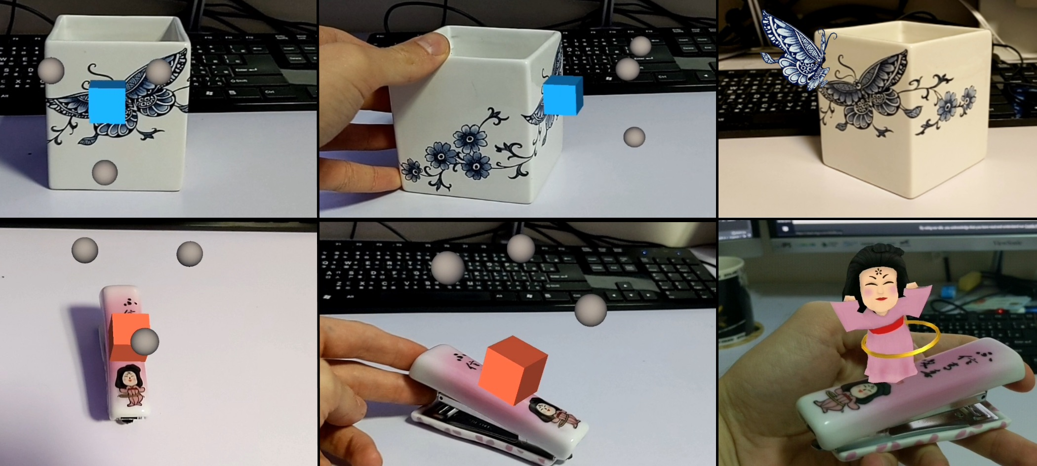 Augmented Reality SDK for Real Time Image Target Recognition and 3D Object Tracking