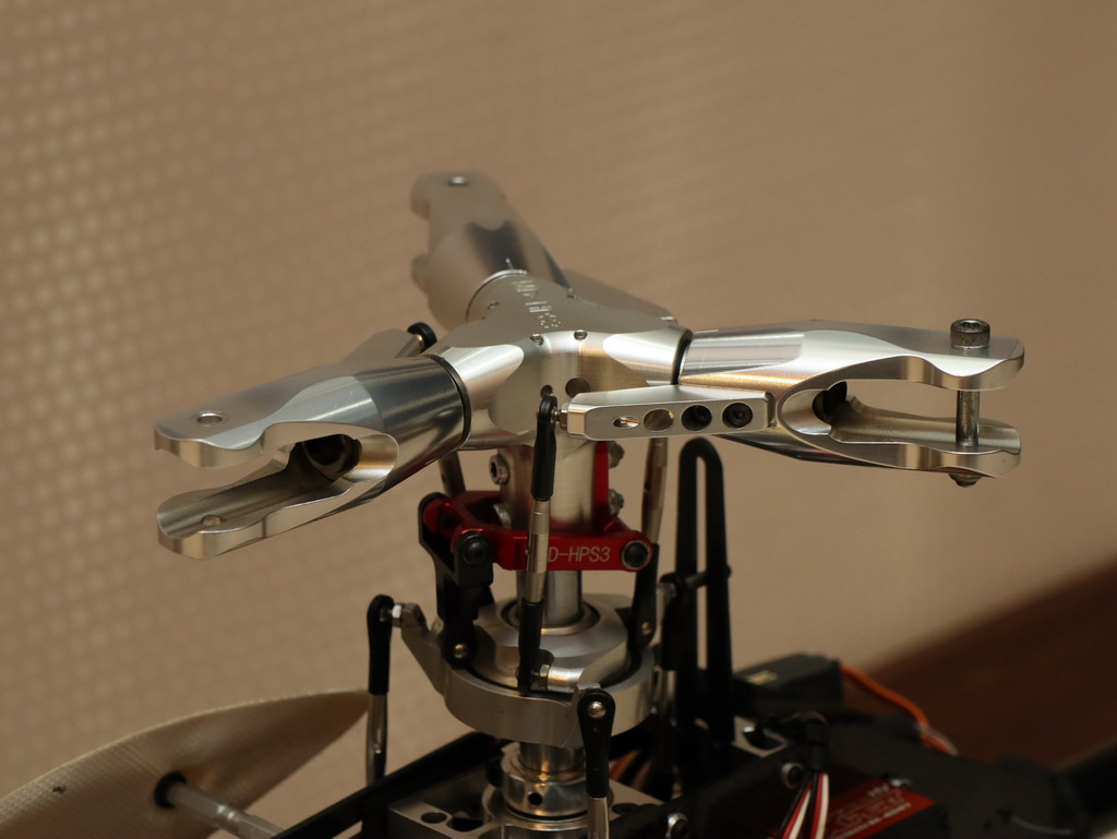 Triple Blades- Flybarless Main Rotor Head Complete System