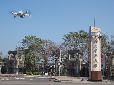 UAV air quality detection system