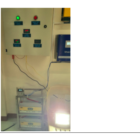 Power Back-Up System for Large Equipment