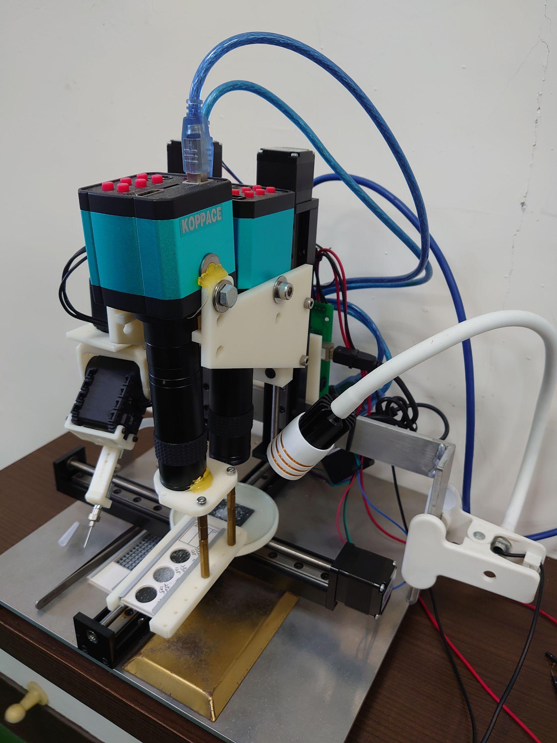 海洋微體生物檢選與焦點疊合自動攝像系統