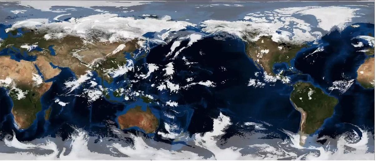 跳躍時空:暖化下的颱風淹水災害